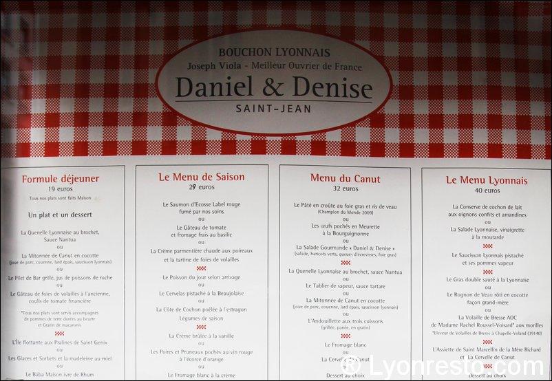 Restaurant Saint Jean Daniel Denise