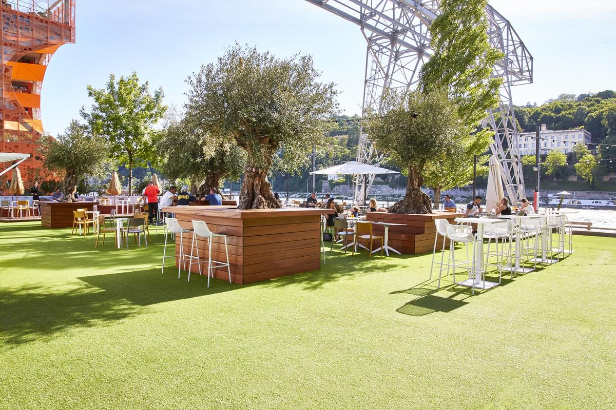 Docks 40 restaurant lyon menu vid o photo avis for Restaurant terrasse lyon