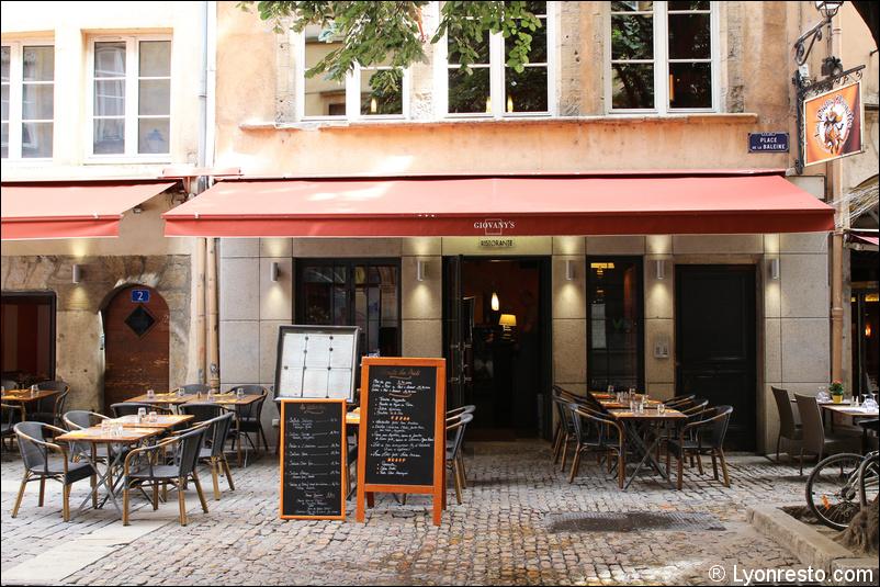 Terrasse Restaurant Lyon : Giovany u0026#39;s Ristorante restaurant Lyon Menu, Vid u00e9o
