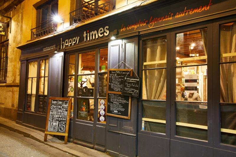 Le restaurant Happy Times Le Comptoir Lyonnais Autrement à 69001 Lyon recommandé