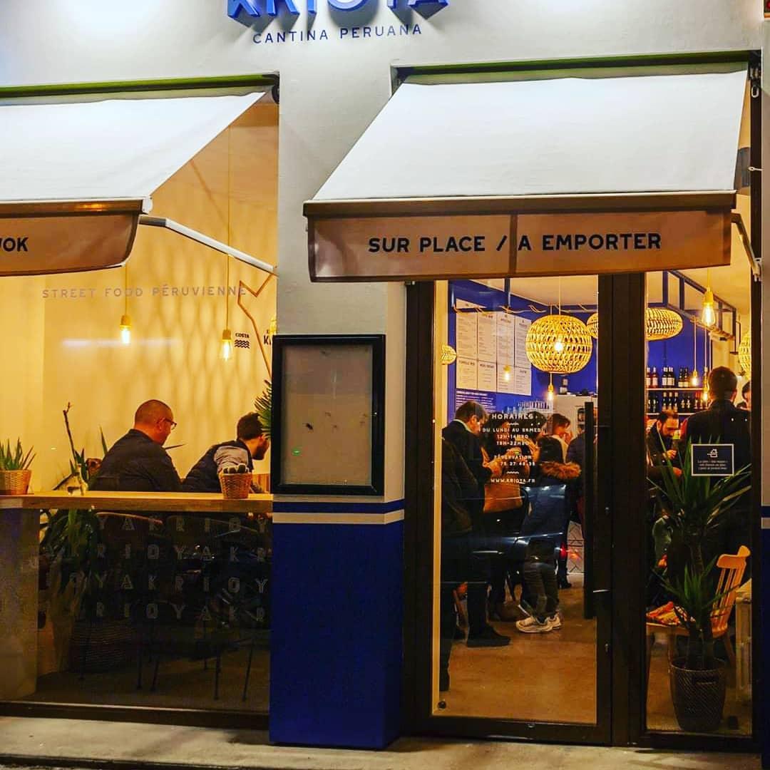 Le restaurant Krioya à 69007 Lyon recommandé