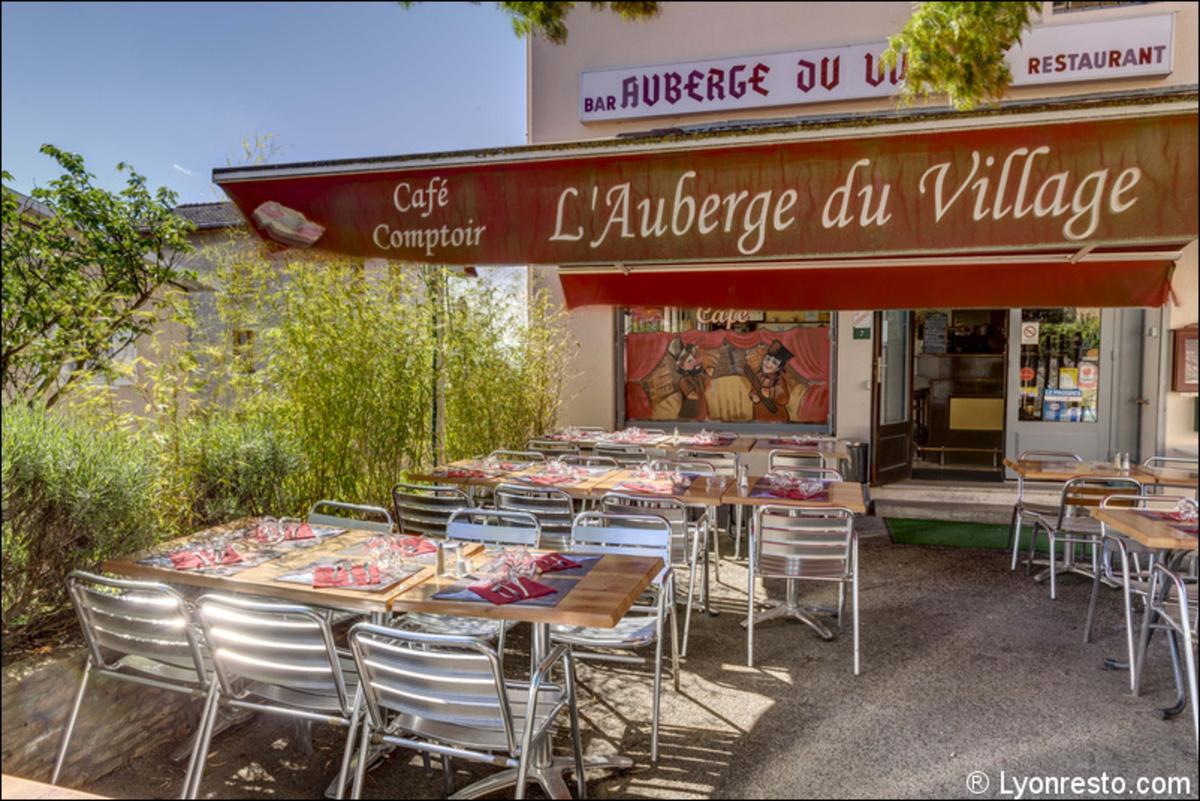 Le restaurant l'Auberge du Village à 69570 Dardilly recommandé
