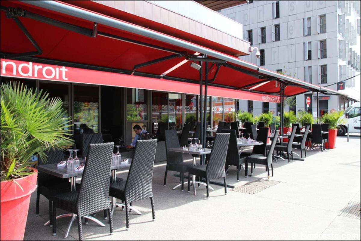 L 39 endroit confluence restaurant lyon menu vid o photo avis lyonresto - Restaurant confluence domo ...