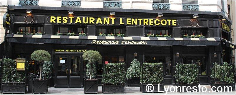 Restaurant Viande Lyon L Entrecote