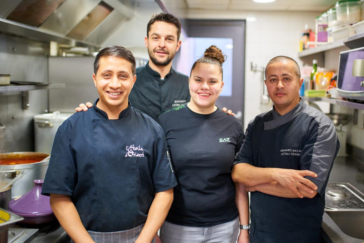 Le restaurant L'Etoile d'Orient à 69002 Lyon recommandé