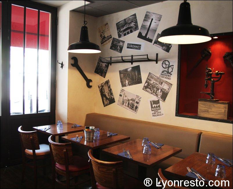 L 39 industrie caf comptoir restaurant lyon horaires t l phone avis lyonresto - Comptoir de famille lyon ...