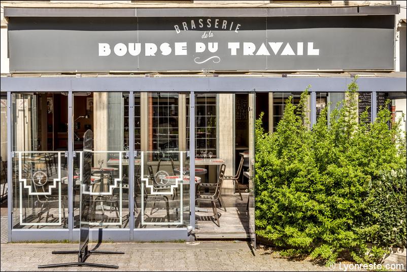La brasserie de la bourse du travail restaurant lyon for Bourse exterieur