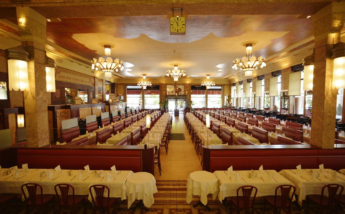 Le restaurant La Brasserie Georges à 69002 Lyon recommandé