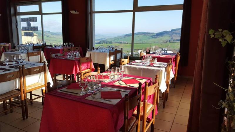 Le restaurant La Chanterelle d'Avenas à 69430 Avenas recommandé