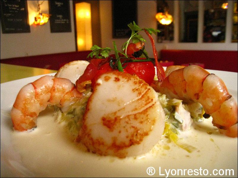 Le restaurant La Coquette à 69004 Lyon recommandé