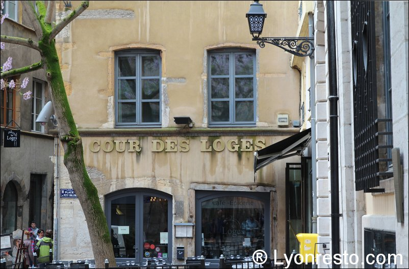 la cour des loges restaurant lyon avis horaires t l phone. Black Bedroom Furniture Sets. Home Design Ideas