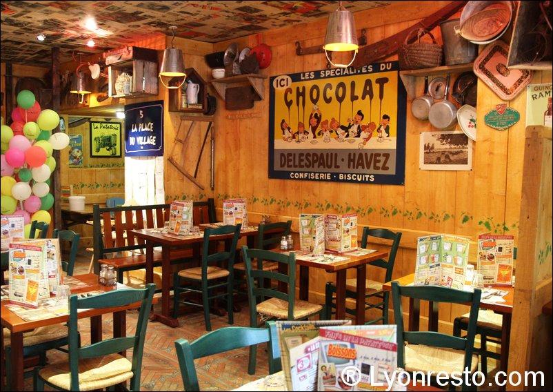 Le restaurant La pataterie à 69007 Lyon recommandé