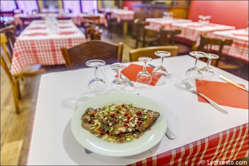 Le restaurant La tête de lard à 69001 Lyon recommandé