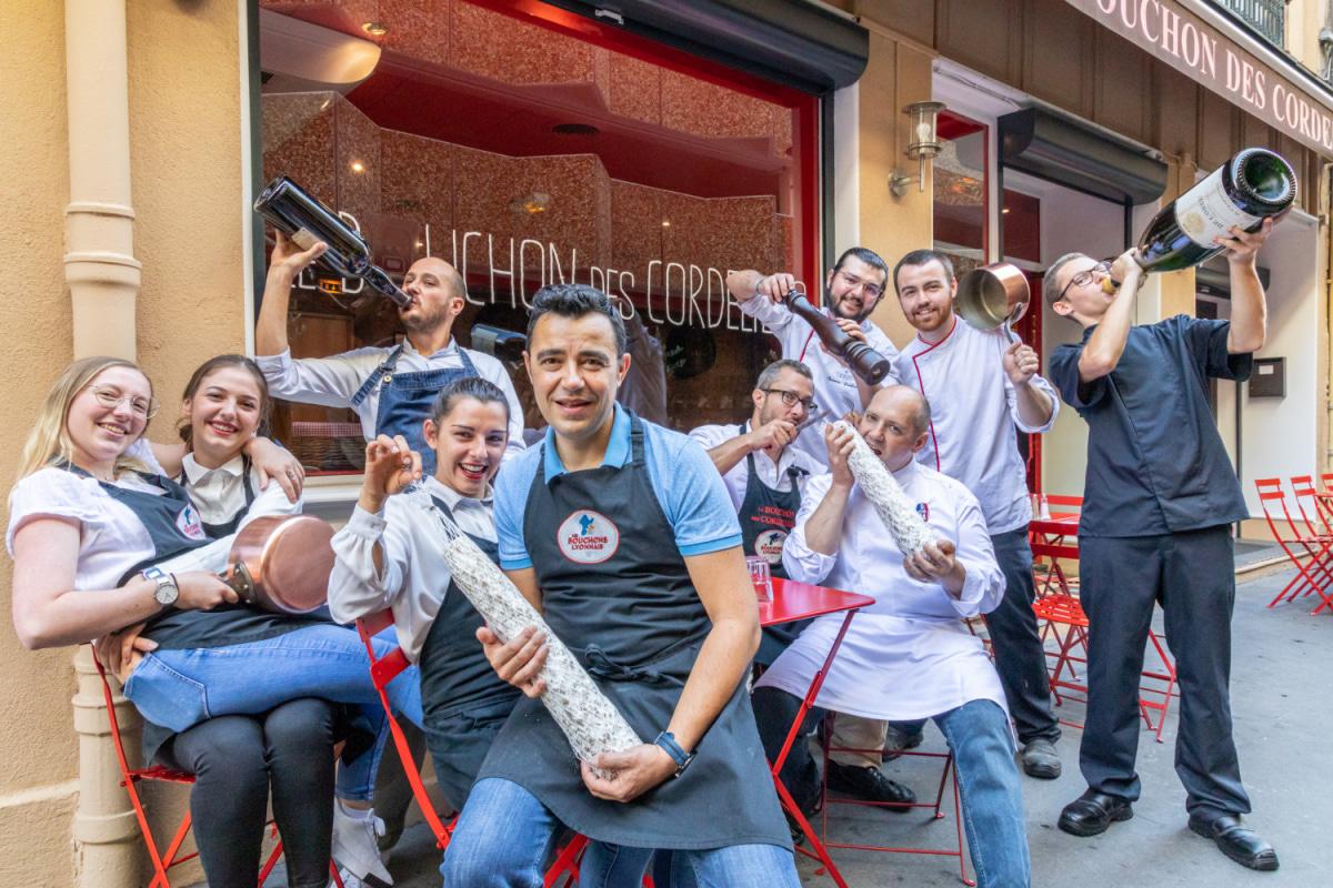 Le restaurant Le Bouchon des Cordeliers à 69002 Lyon recommandé