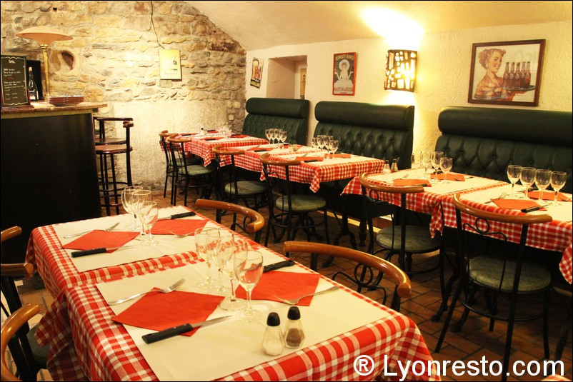 Le restaurant Le caveau des gourmands à 69001 Lyon recommandé