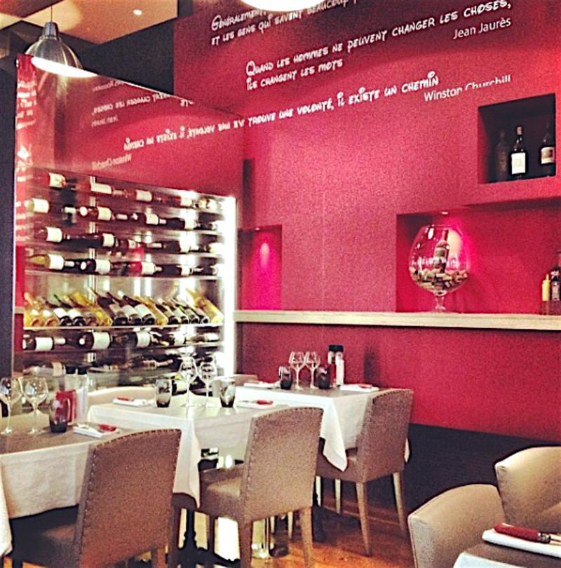 Le restaurant Le Centre by Georges à 69002 Lyon recommandé