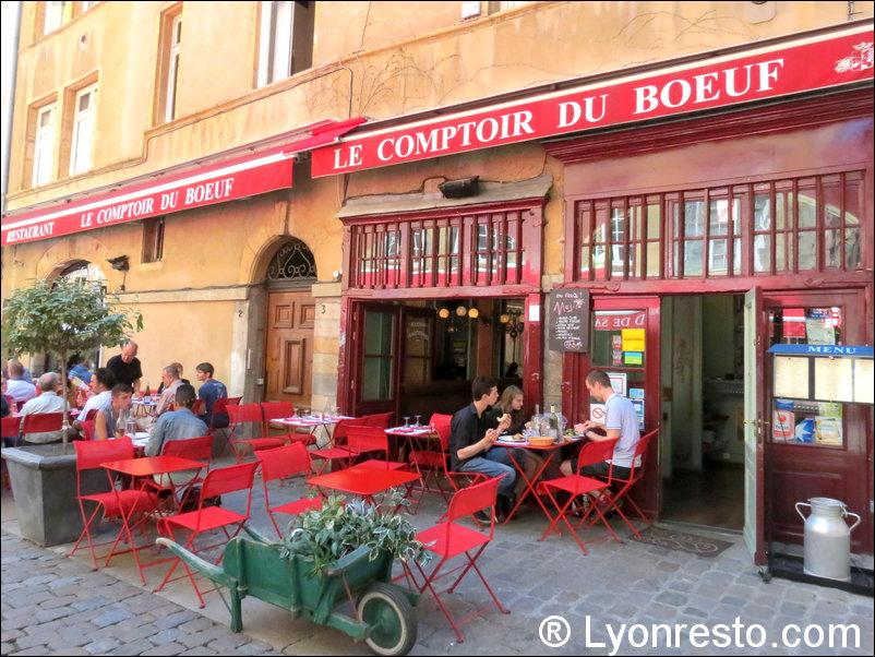 Le comptoir du boeuf restaurant lyon r server for Restaurant terrasse lyon
