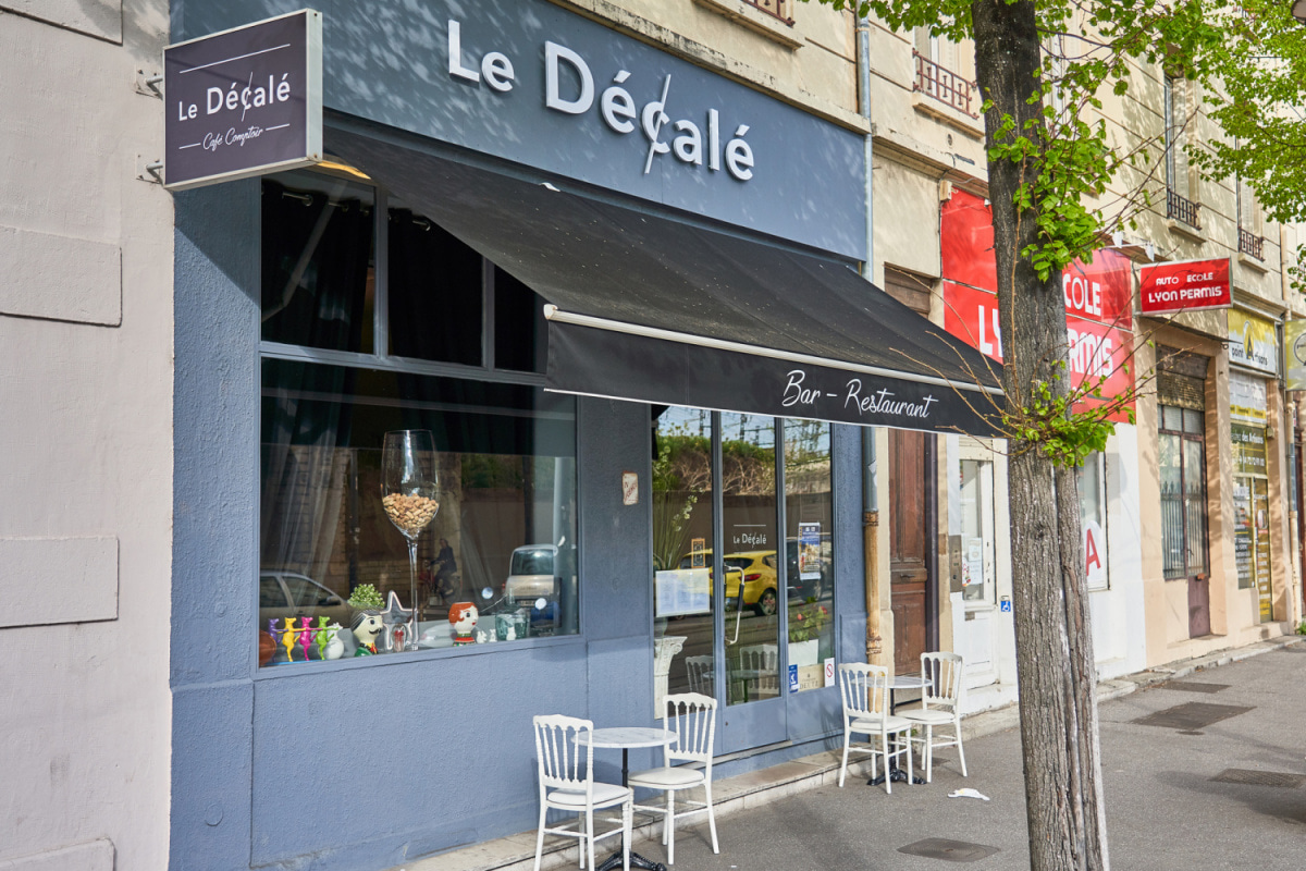 Le restaurant Le Décalé à 69007 Lyon recommandé