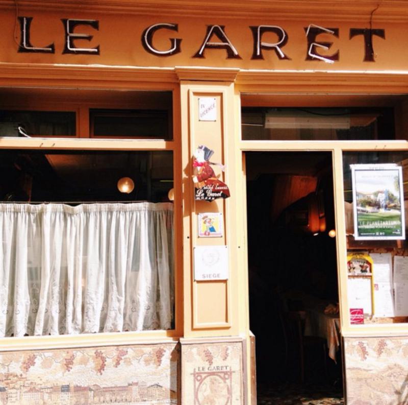 Le restaurant Le Garet à 69001 Lyon recommandé