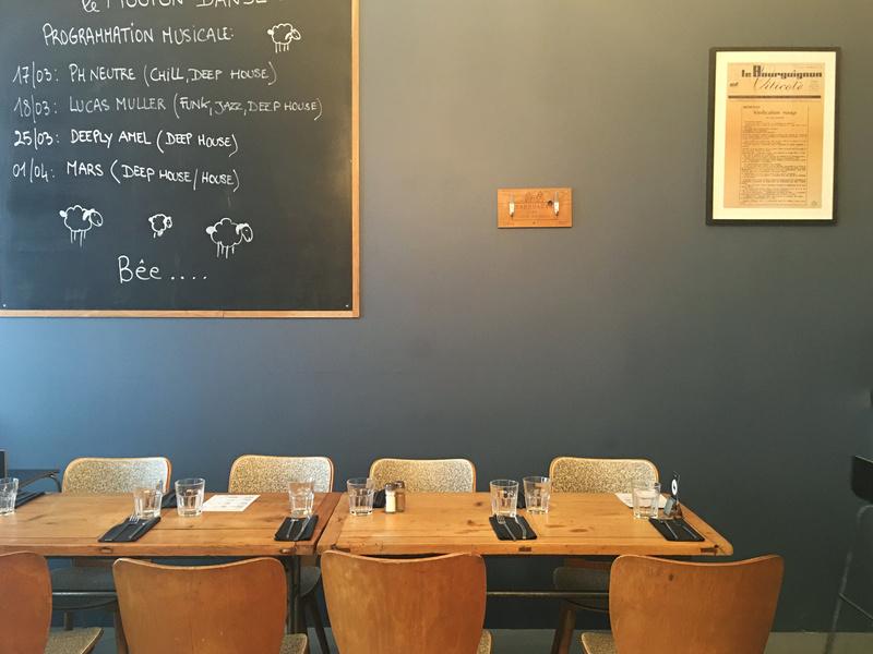 Le restaurant Le Mouton Danse à 69007 Lyon recommandé
