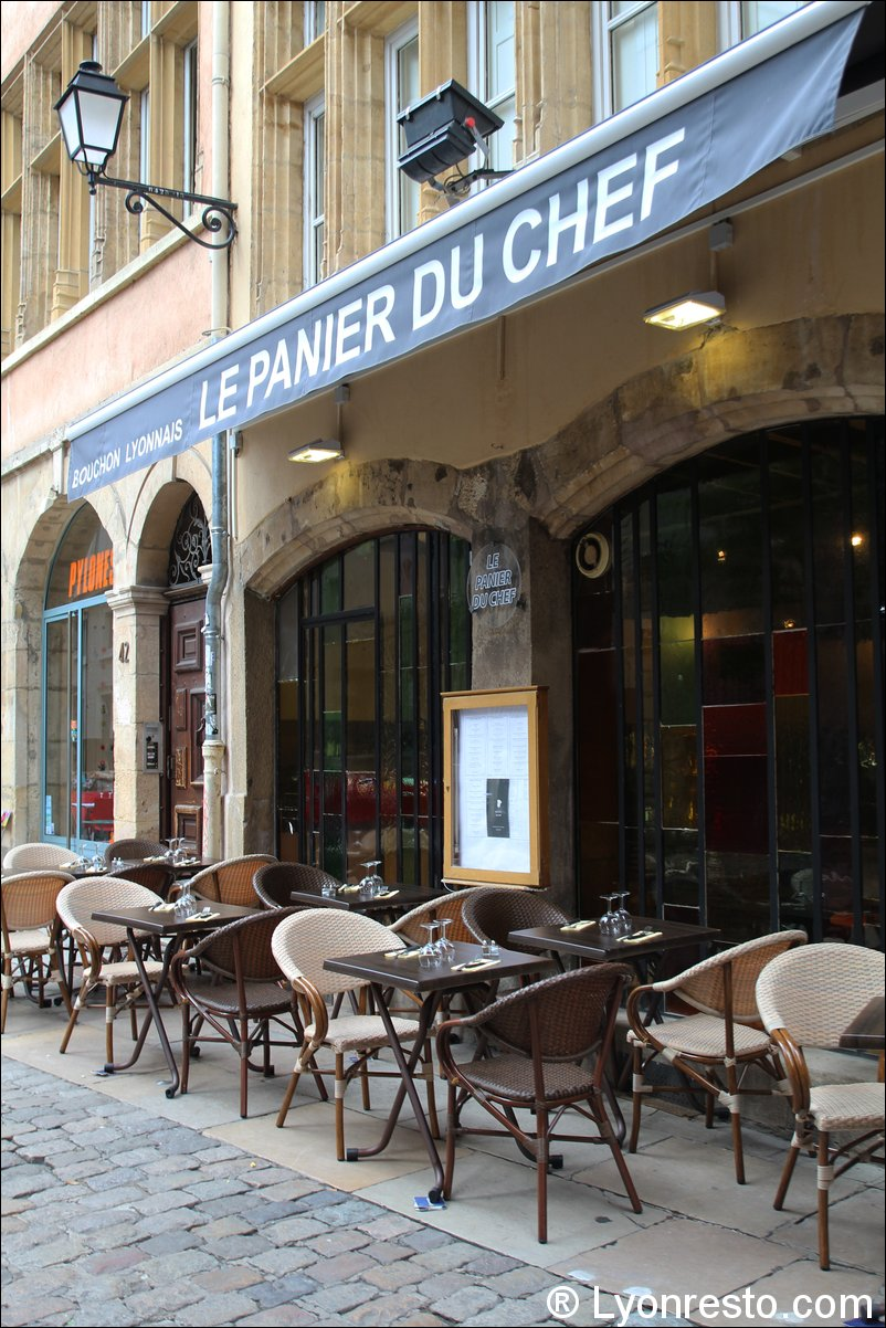 le panier du chef restaurant lyon horaires t l phone avis lyonresto. Black Bedroom Furniture Sets. Home Design Ideas