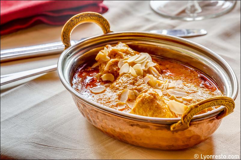 Le restaurant Le Shalimar à 69002 Lyon recommandé