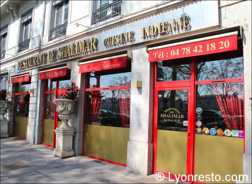 Restaurant Le Shalimar A Lyon