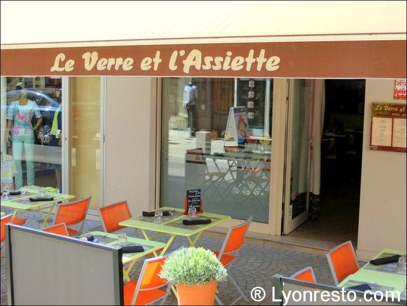 Le restaurant Le Verre et l'assiette à 69009 Lyon recommandé