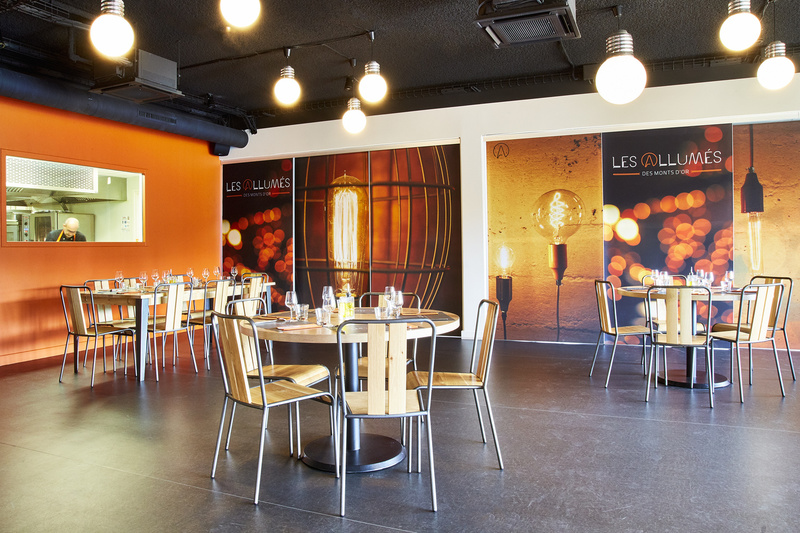 Le restaurant Les Allumés des Monts d'Or à 69380 Lissieu recommandé
