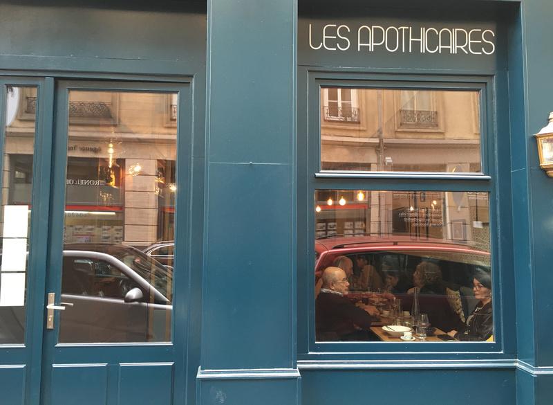 Le restaurant Les Apothicaires à 69006 Lyon recommandé