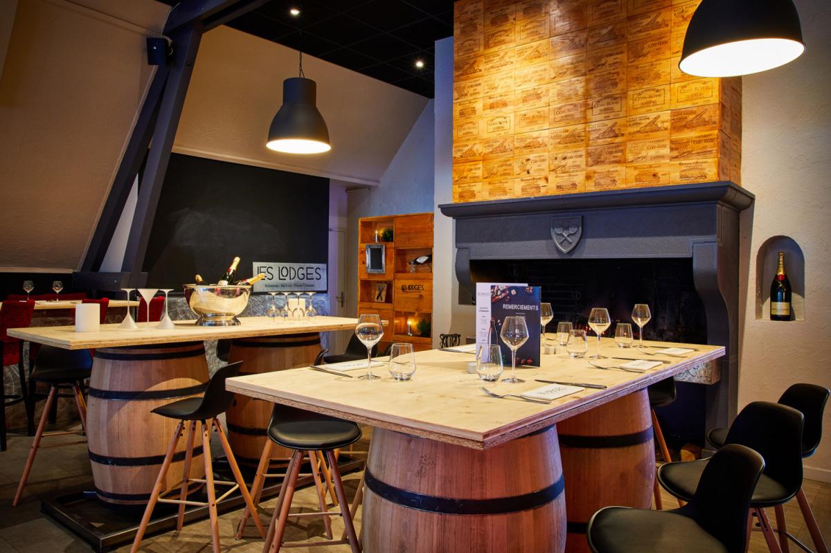 Le restaurant Les Lodges à 69410 Champagne-au-Mont-d'Or recommandé