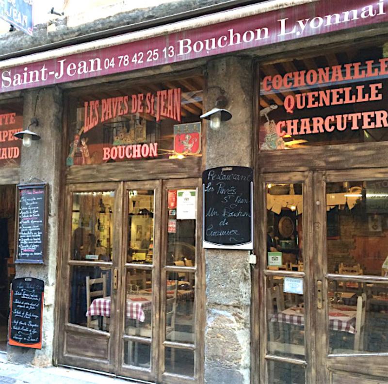 Le restaurant Les Pavés de St jean à 69005 Lyon recommandé