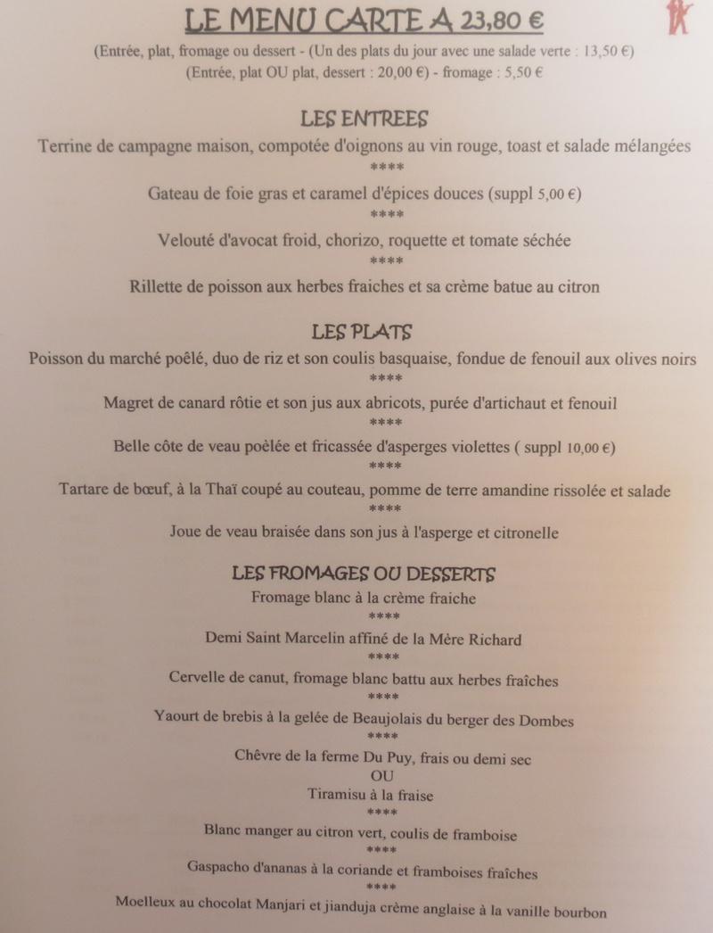Le restaurant Les Saveurs du Bistrot à 69006 Lyon recommandé