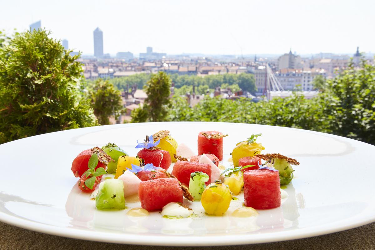Les terrasses de lyon villa florentine restaurant lyon for Cuisine gastronomique