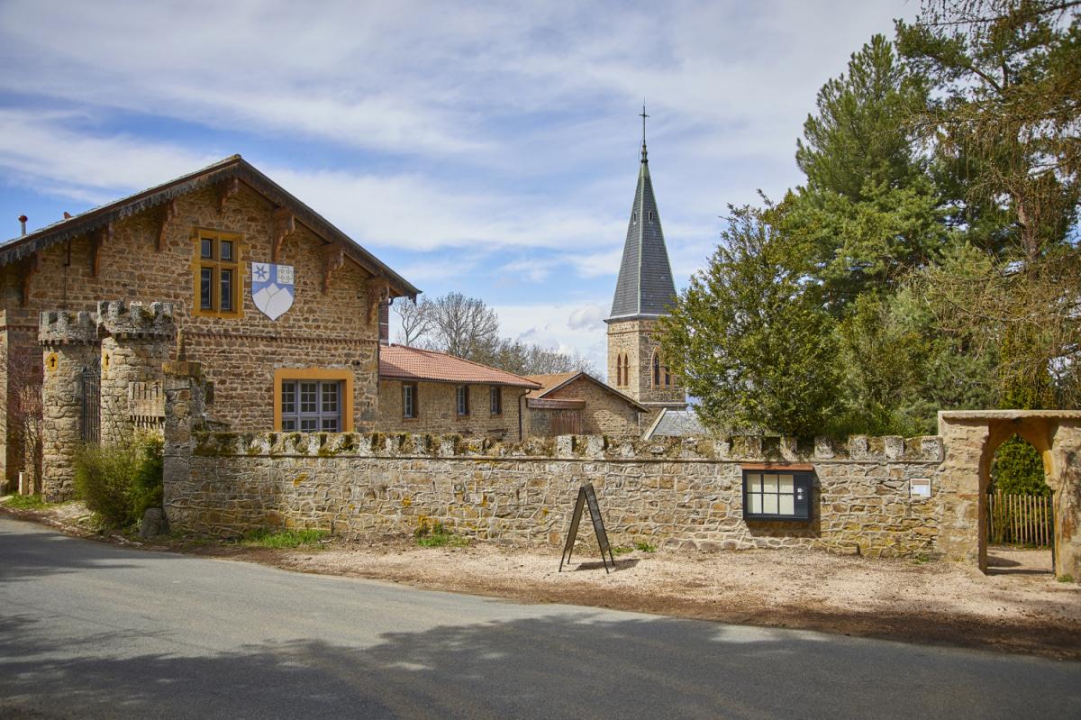 Le restaurant Les Terrasses de Saint-Bonnet à 69690 Courzieu recommandé