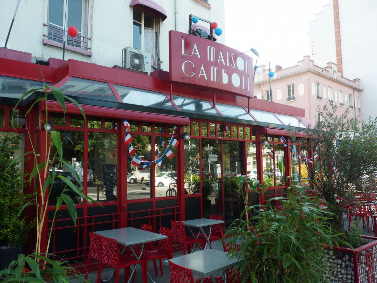 Le restaurant Maison Gamboni à 69007 Lyon recommandé