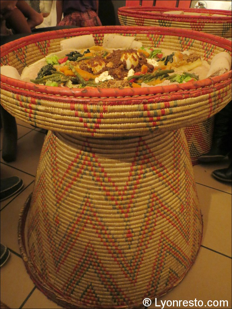 Messob restaurant ethiopien restaurant lyon horaires - Restaurant tout le monde a table lyon ...