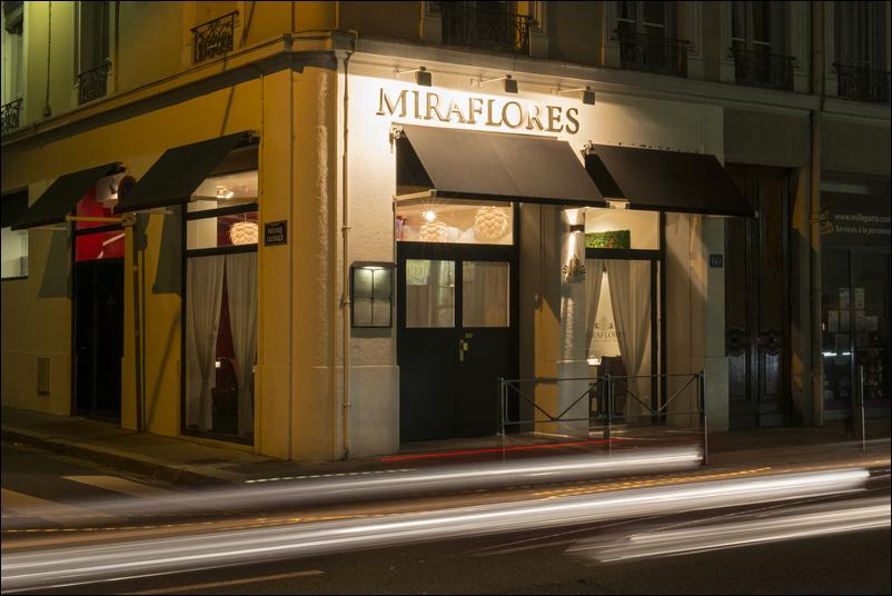 Le restaurant Miraflores à 69006 Lyon recommandé