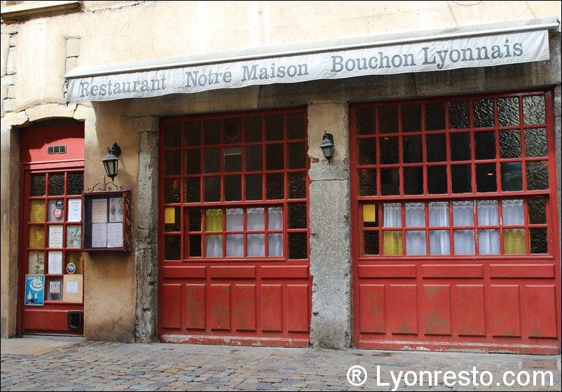 Le restaurant Notre Maison à 69005 Lyon recommandé