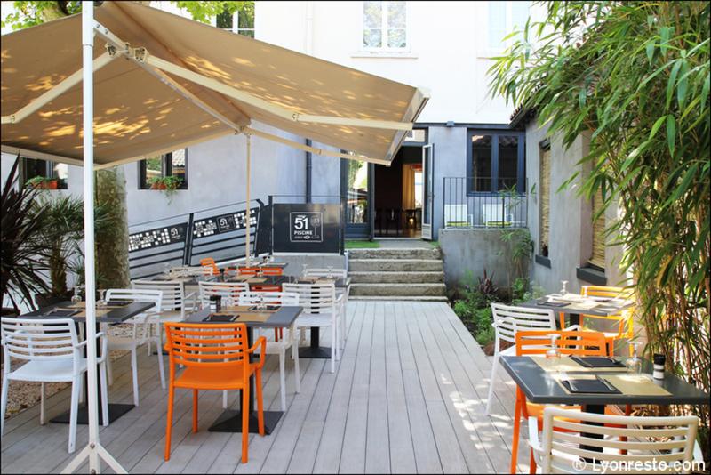 O jardin restaurant lyon horaires t l phone avis for Restaurant o jardin