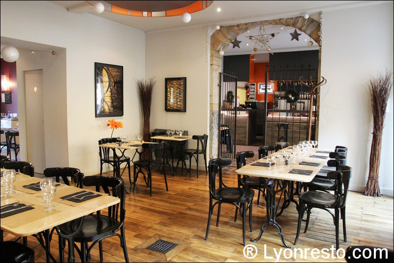 O jardin restaurant lyon reserver menu avis photo for Restaurant o jardin