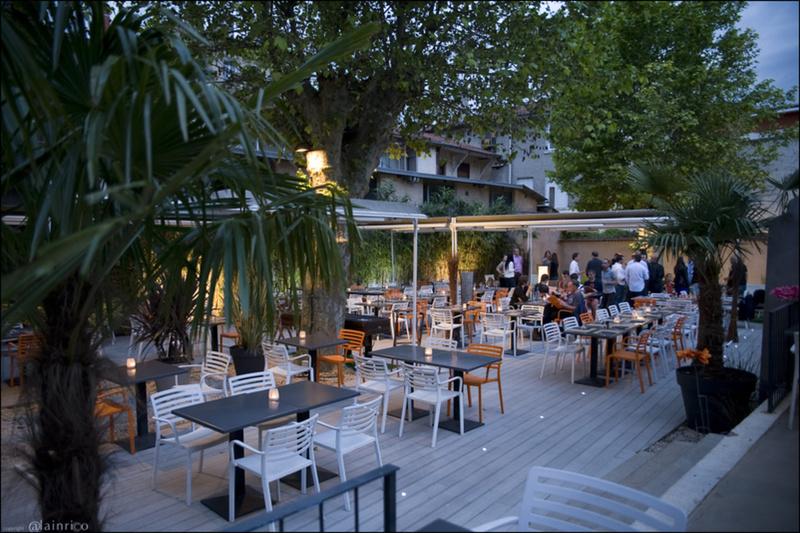 O jardin restaurant lyon r server menu vid o photo avis lyonresto - Jardin des crayeres menu ...