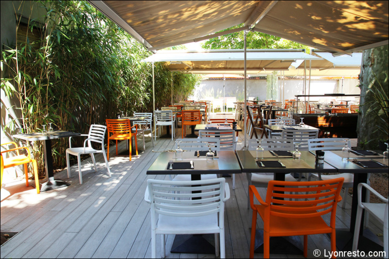 O jardin restaurant lyon horaires t l phone avis for Jardins et terrasses lyon
