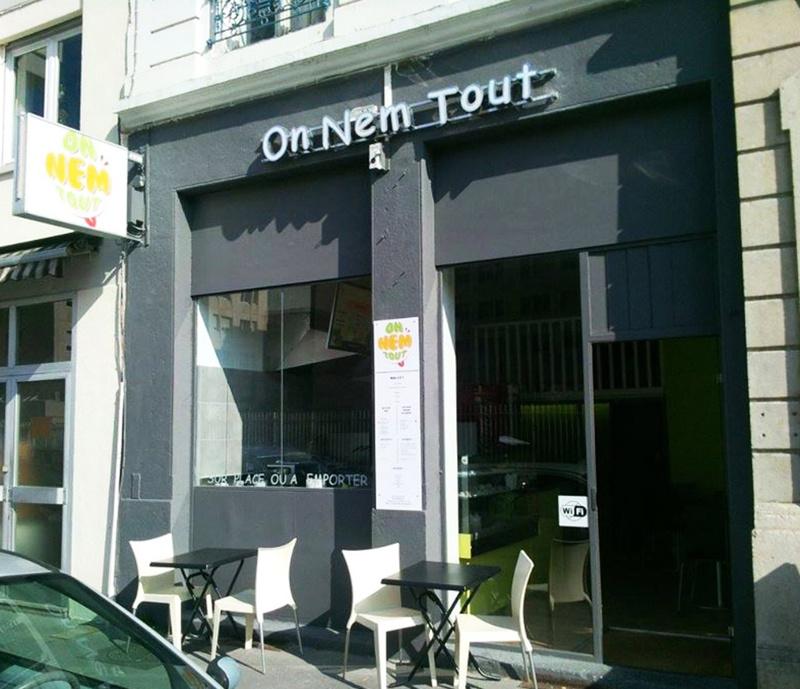 Le restaurant On Nem Tout à 69007 LYON recommandé