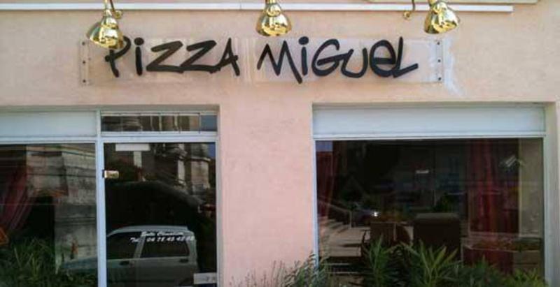Le restaurant Pizza Miguel à 69630 Chaponost recommandé