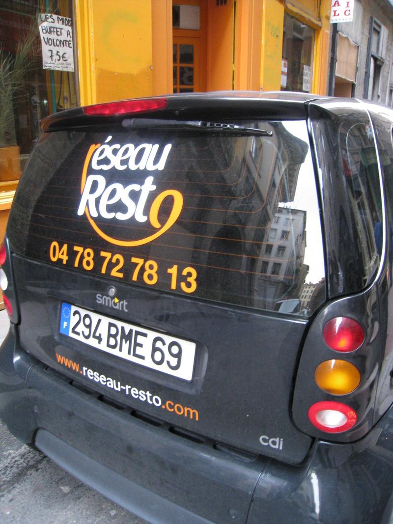 Le restaurant Reseau Resto (société de livraison) à 69001 Lyon recommandé