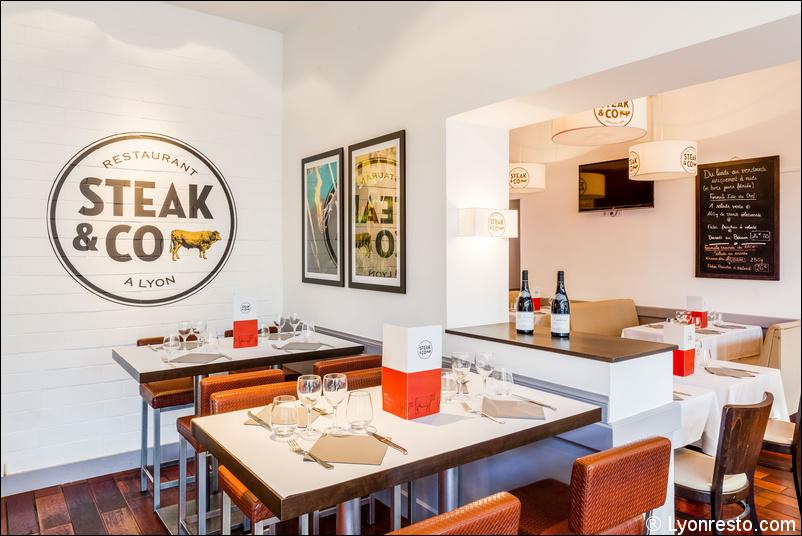 Le restaurant Steak and co à 69006 Lyon recommandé