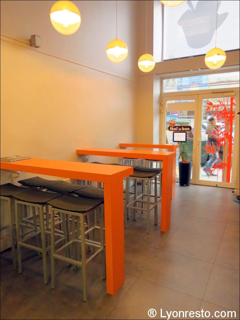 Le restaurant Thaï in Box à 69003 Lyon recommandé