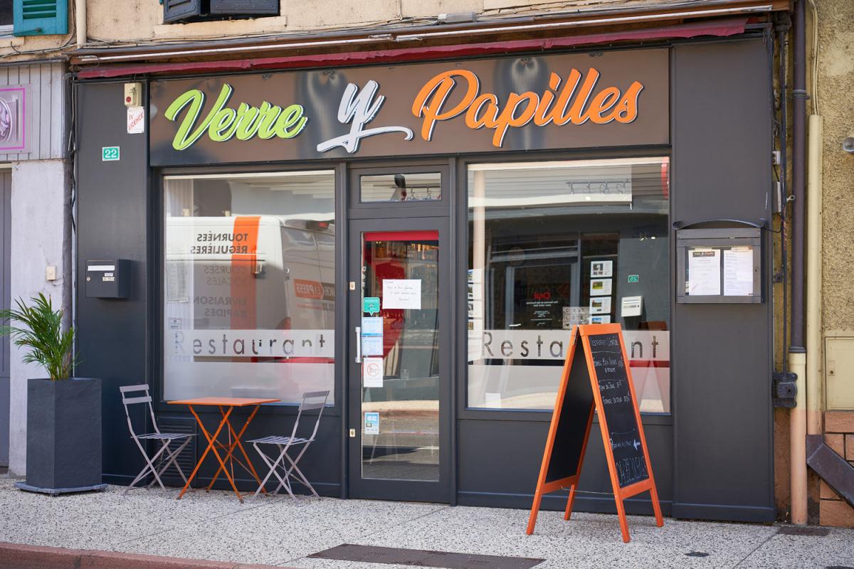 Le restaurant Verre y papilles à 69380 Lozanne recommandé