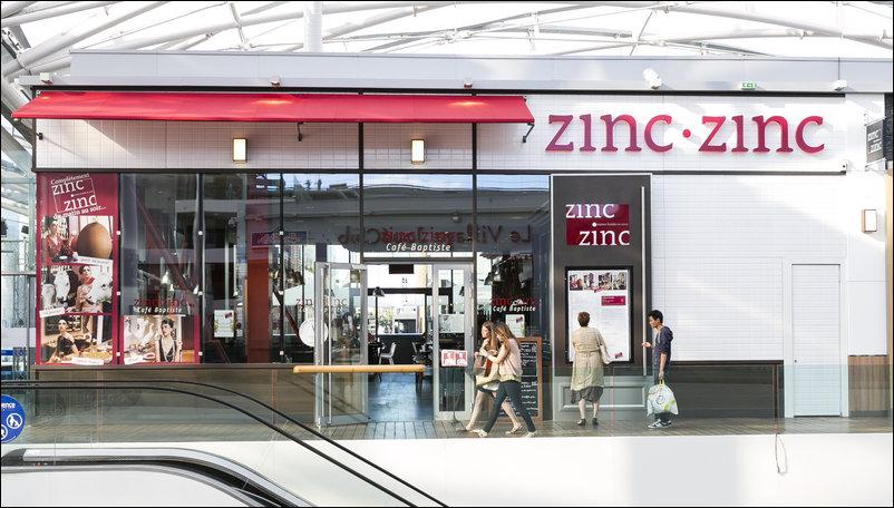 zinc zinc caf baptiste confluence restaurant lyon horaires t l phone avis lyonresto. Black Bedroom Furniture Sets. Home Design Ideas